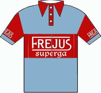 Frejus Superga - Giro  d'Italia 1950