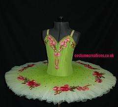Green/Pink classical ballet Tutu