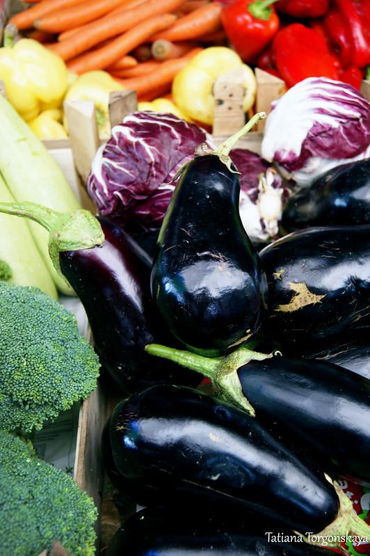 Овощи на херцегновском рынке