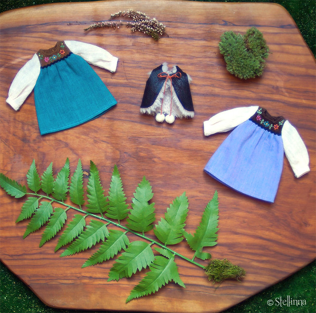 Forest Folklore dress set