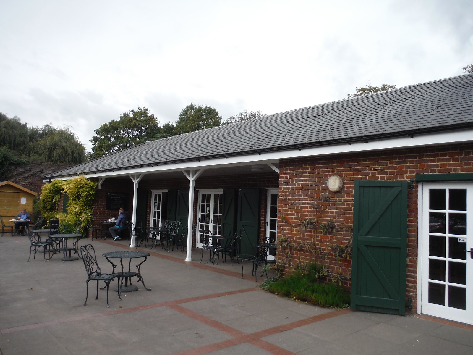 Potting Shed Cafe (NT), Morden Hall Park SWC Walk Short 13 - Morden Hall Park and Merton Abbey Mills