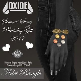 OXIDE Arlet Bangle (TSS Anniversary Gift 2017)