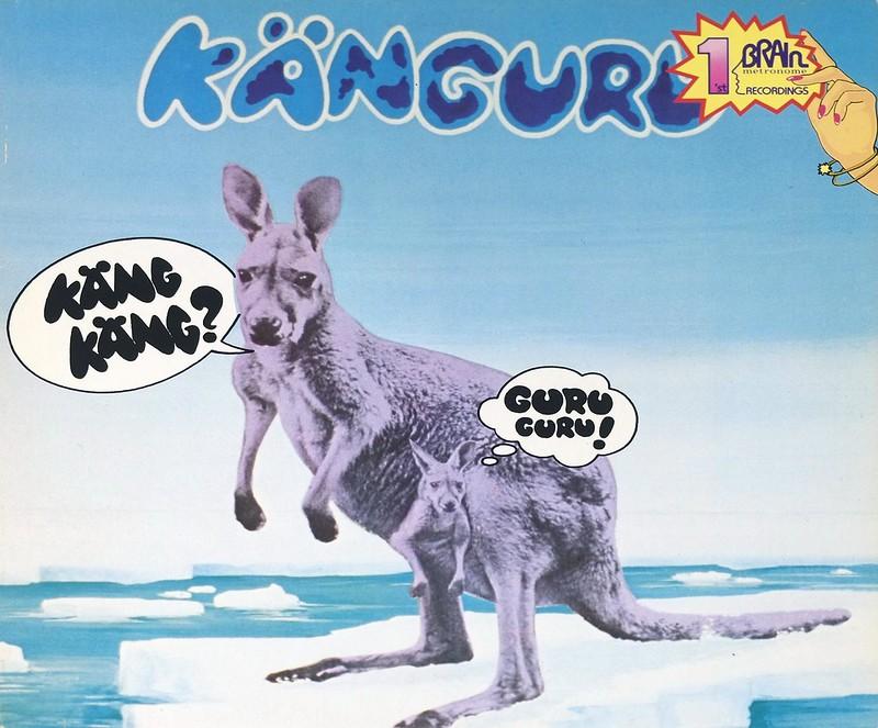 """Guru Guru Känguru 12"""" LP ALBUM VINYL"""