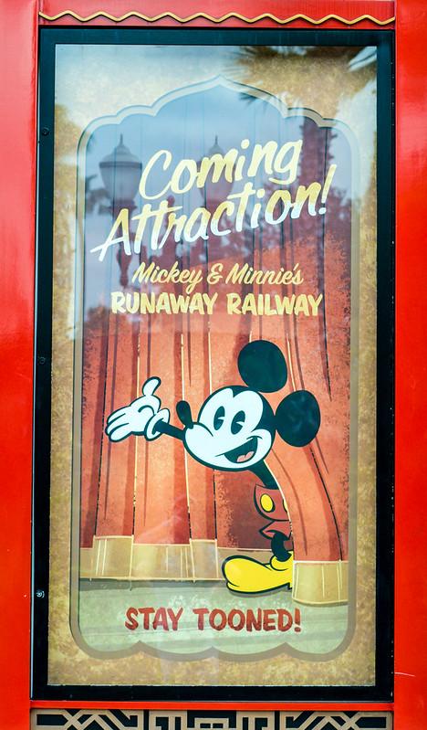 Mickey's Runaway poster DHS