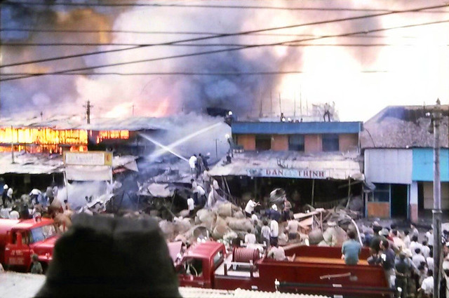 Saigon 1971 - Cháy chợ Cầu Muối