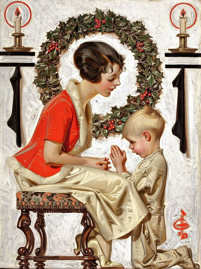 Joseph Christian Leyendecker - Saturday Evening Post cover (1921)