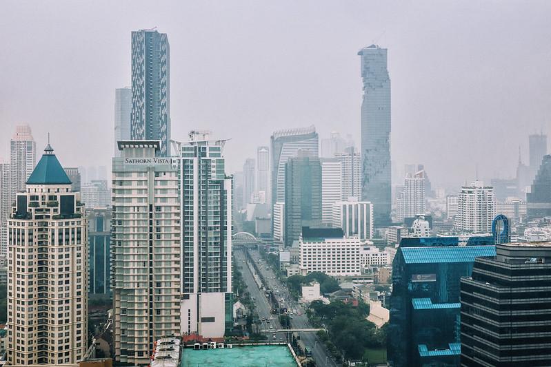 Morning smog