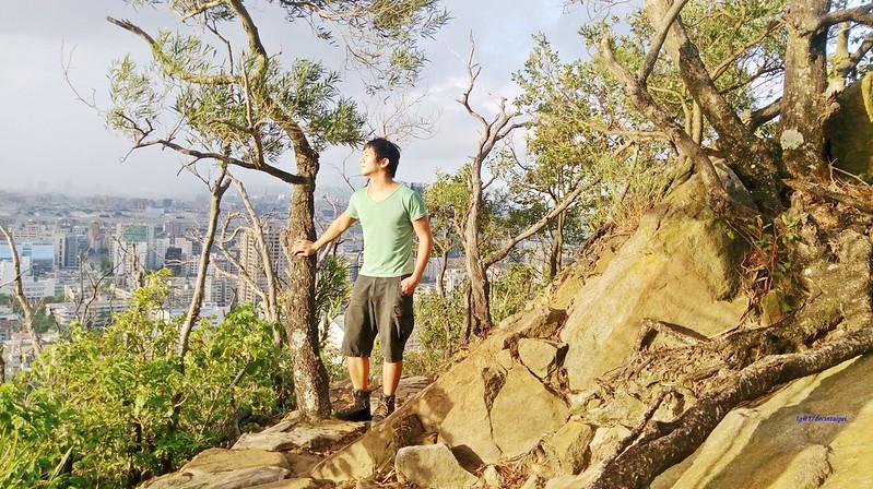 TAIPEI-bush walking-台北郊山健行-內湖金面山剪刀石-17度C隨拍 (9)