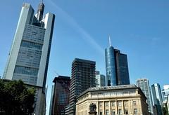 Frankfurt Germany skyscraper