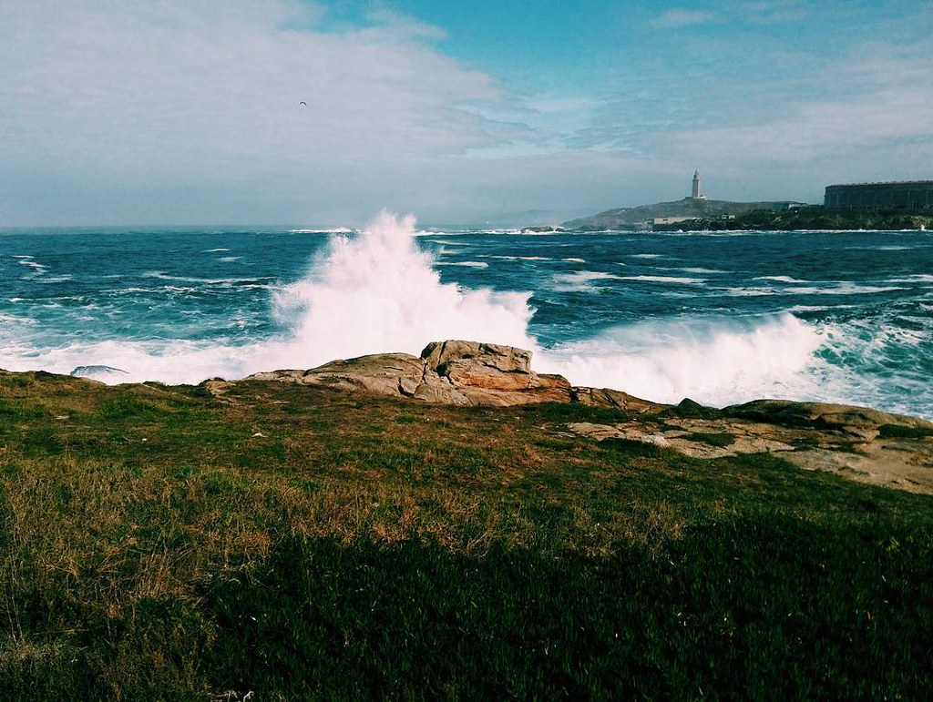 Oleaje. Fotos de domingo 2017. 43/53. #fotosdedomingo_2017 #Coruña #autumn #october #ocean #waves #phonephoto #photography #today