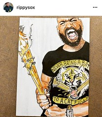 Awesome! Thanks to @rippysox on Instagram! Only available for 9 more days!!! Get your t-shirt today @… https://t.co/iuKdKPfCU1 - Posted by Khary Payton (King Ezekiel)