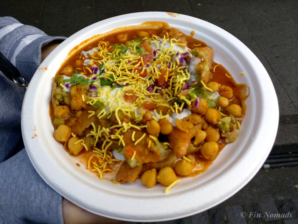 samosa chaat street food