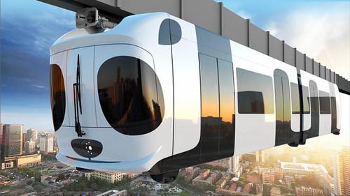 У Китаї запустять підвісну залізницю