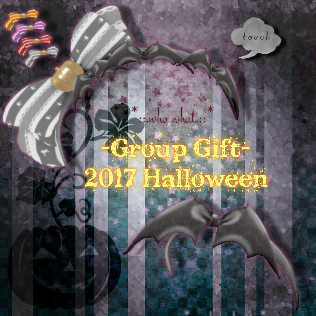 *::.who what.::* -Group Gift- 2017 Halloween - TeleportHub.com Live!
