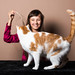 With big cat :-) by luciablaskova