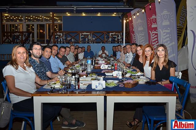 The Garden Beach Hotel ve Palmeras Beach Hotel ekibi motivasyon yemeği
