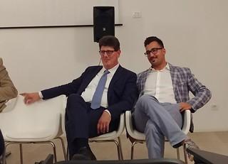 Fabio Topputi e Marco Lacarra al convegno sui vaccini