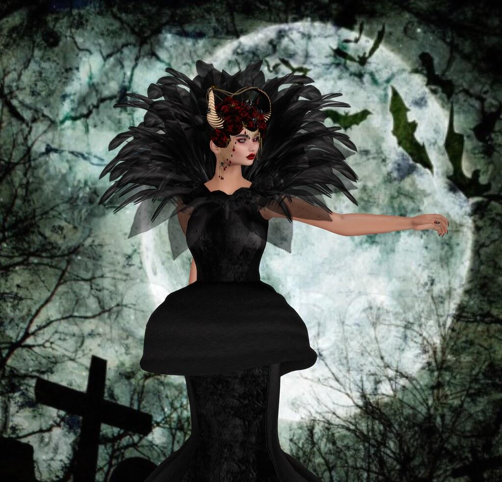 Zuri Rayna Lilith Spider headdress 1