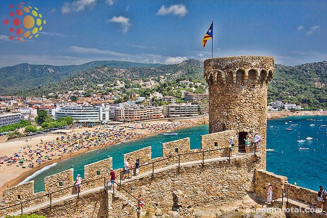 castelos da Espanha: Tossa de Mar