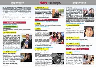 Programa Oficial ÑAM 2017