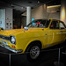 Daytona Yellow Ford Escort