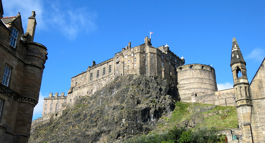 Stedentrip Edinburgh. Bezienswaardigheden Edinburgh: Edinburgh Castle | Mooistestedentrips.nl