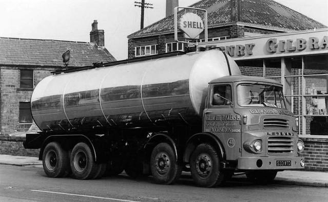 Gilbraith Tankers Leyland Octopus tanker Reg No 533 WTD