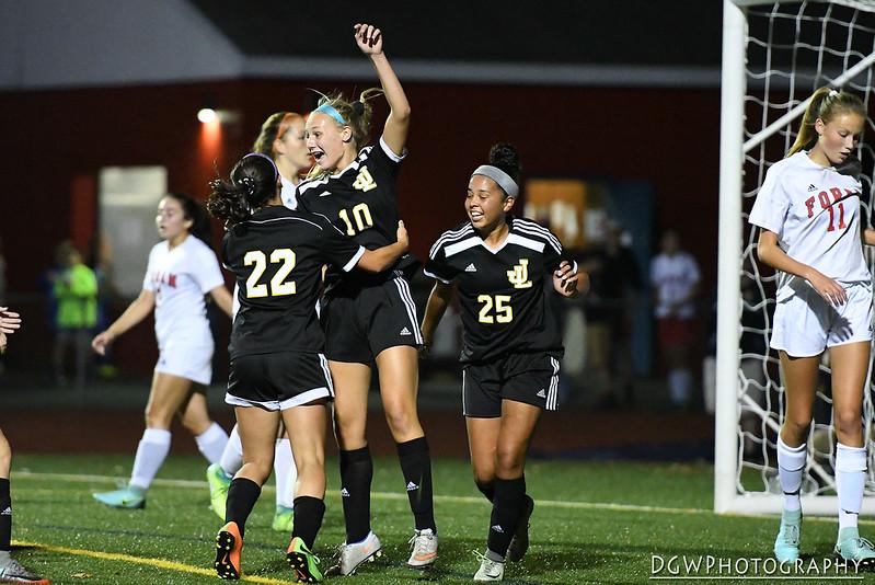 Foran High vs. Jonathan Law - High School Girls Soccer