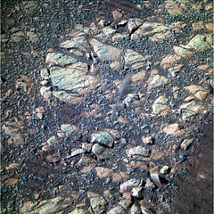Rocks and Pebbles Near Endeavour Crater 1