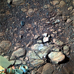 Rocks and Pebbles Near Endeavour Crater 3