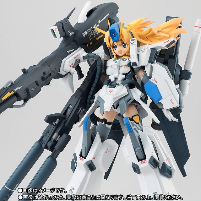 超重火力!第三位少女現身!AGP アーマーガールズプロジェクト《鋼彈前哨戰》「MS少女(リナ=ゴールデンバーグ) FAZZ」