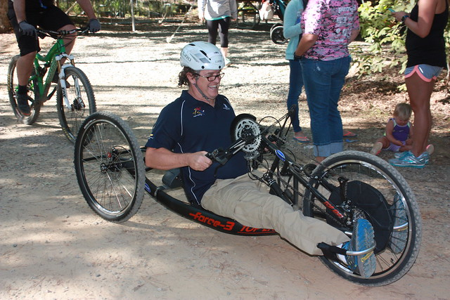 Paralyzed Veterans Of America Explore Trails At Pocahontas