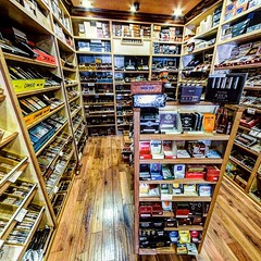 Embassy Cigars - Anaheim # CA. Friendly place in OC with plenty to of Padron, LFD & Opus X on hand. Nice lounge with a big TV. Talk to Gary when you go.
