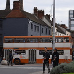 An unusual visitor to Coventry (while waiting for Volvo B7RLE 2167)