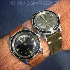 Kind of toi-et-moi... Waltham Bathyscaphe I and II.