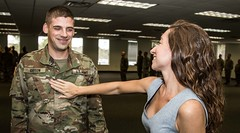 143d ESC promotes five Soldiers
