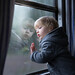 on the train by iwona_podlasinska