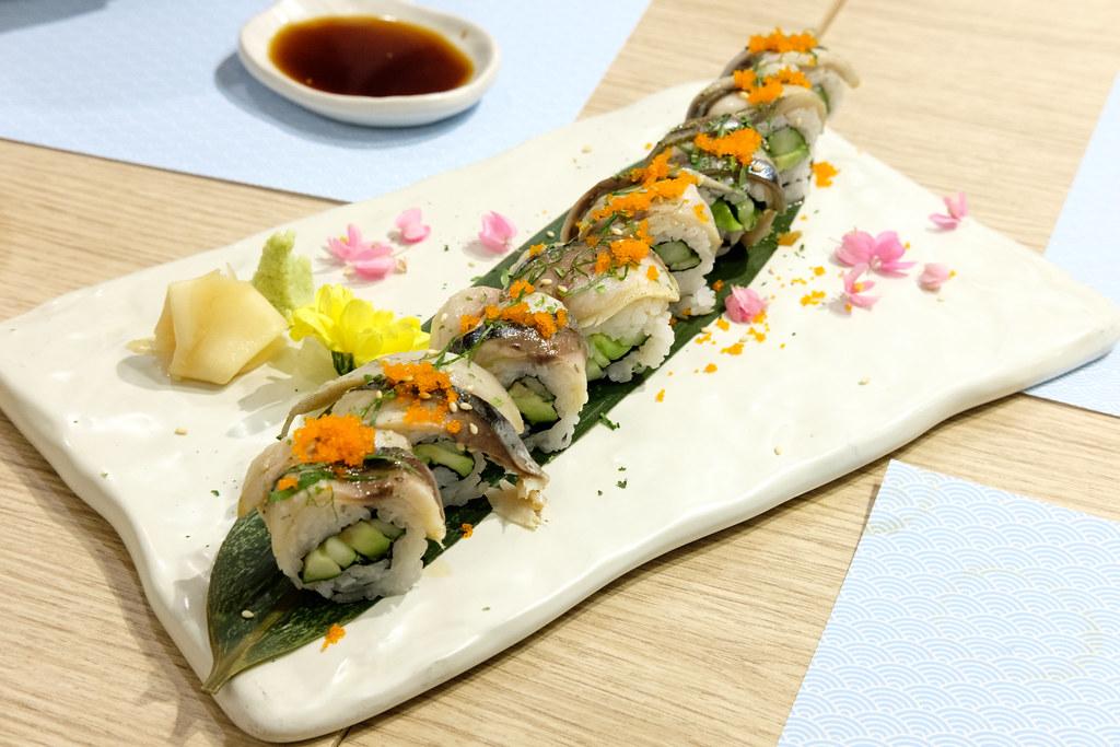 Saba Avocado Roll