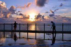 Caribbean Sunrise.  Nikon D3100. DSC_0109