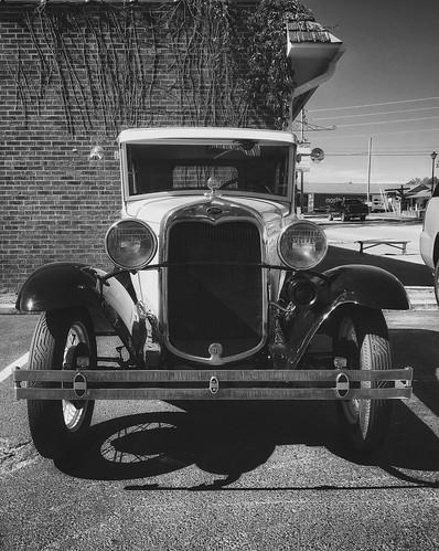 jennifertaylor mobilephotography iphone6s ford modelt automobile car blackandwhite bw