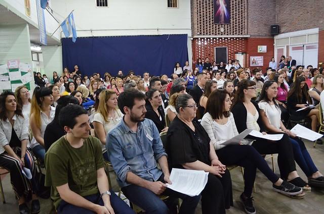 Sáenz: alumnos del Profesorado reciben sacramentos