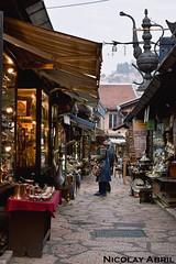 Bazaar in Kazandžiluk, Sarajevo