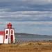 Le petit phare ( Saint-André de Kamouraska, Québec, Canada)
