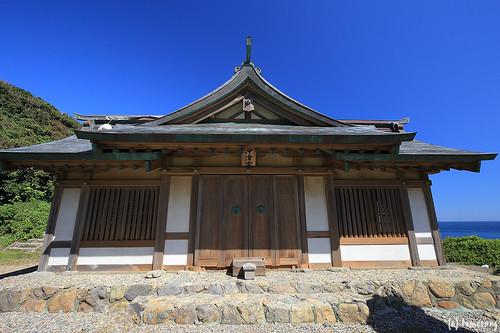 Okitsu-miya Yohaisho (Worship Hall)