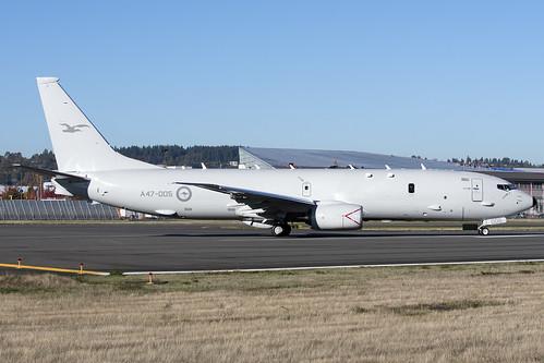 RAAF Boeing -P8 A47-005