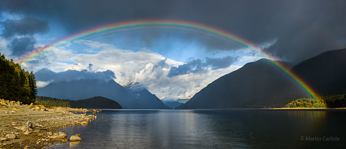 alouettelake goldenearsprovincialpark mapleridge britishcolumbia canada fraservalley provincialparks parks rainbows lakes trees mountains clouds clearingstorms panoramas sonycameras nikonlenses captureonepro10 wow naturesgallery nwn