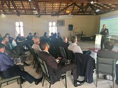 Secretário Marcelo Caetano fala para representantes da Confederação dos Conselhos de Pastores do Brasil.24.out