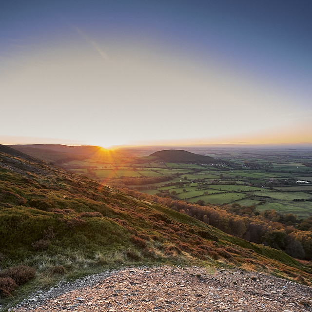 Whorl Hill sunset, Canon EOS-1DS MARK II, Canon EF 17-40mm f/4L USM