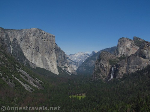 Views from Artist Point in Yosemite National Park, California