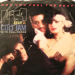 LISA LISA & CULT JAM WITH FULL FORCE:CAN YOU FEEL THE BEAT(JACKET A)